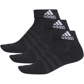 adidas Cush Ankle Socks 3-Pack Men black/black/black